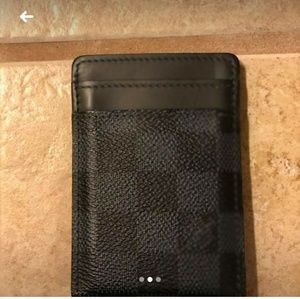 13973bba820b Louis Vuitton Accessories - Louie v wallet money clip